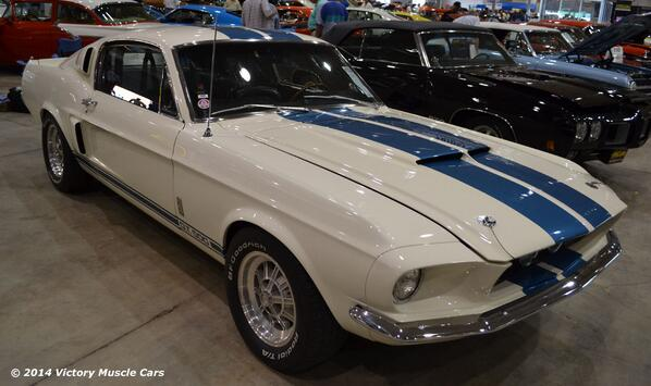 Photo of the Day: 1967 #Ford #Mustang Shelby GT500 428 at the #Mecum Auctions 2013 Spring Classic #MuscleCars http://t.co/syiOE5Qhz0