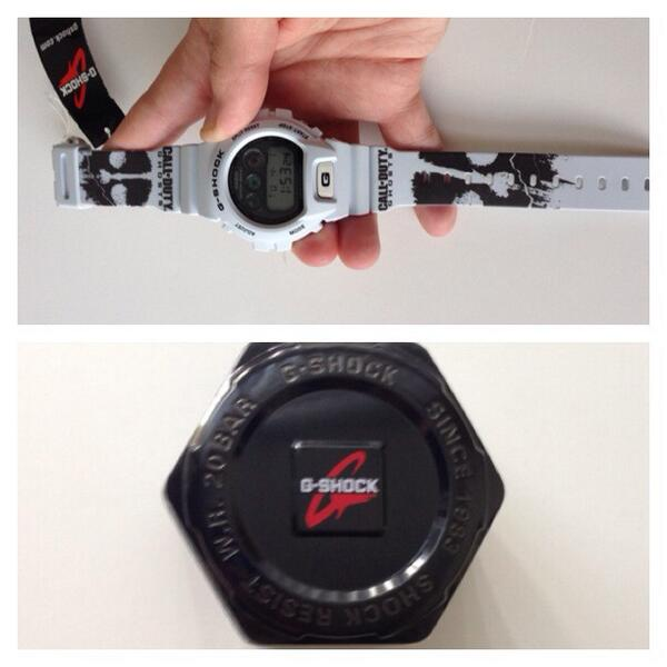 Giveaway? If we hit 500 RTs we will figure out how to give this #CODGhosts #CallofDuty G-Shock Away. http://t.co/oa69iy5ME0