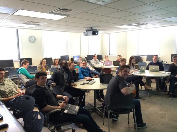 Had a great time teaching about social media @byu today in the #RobCom351 class! http://t.co/wFv3Y9cEa6