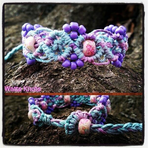 #cottoncandy #macrame #hempbracelet #hemp #glassbeads #lilac #pink #lightblue #hippie #hippy #hippiestuff #fashio... http://t.co/U1UE8GbMdd