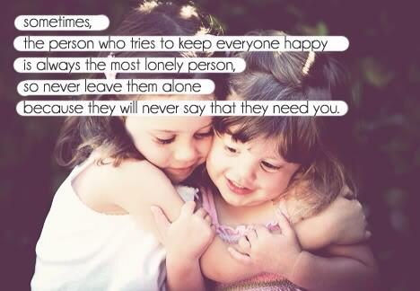 I think this is very true, we all need people around us & to be there for us, no matter how strong people seem http://t.co/HU1cfxGz6p