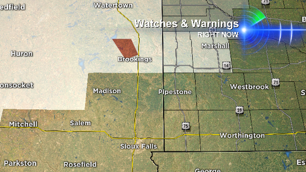 Tornado warning inside a blizzard warning north of Brookings, SD. What a spring! http://t.co/QumV96Jurs