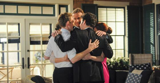 Grab your friends and hang on tight, the legendary #HIMYMFinale starts NOW on @CBS! http://t.co/aCxRa3sSym http://t.co/nzL74QRFf6