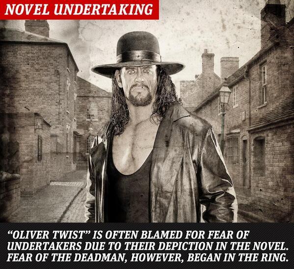 "From the #WWEApp: An #Undertaker ""twist""   #RAW http://t.co/qLPgz24hTA"