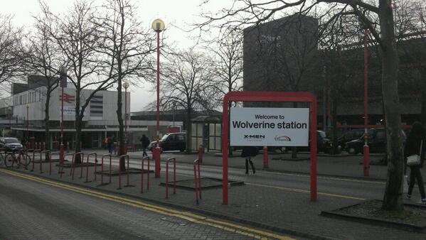 """For your safety and security, CCTV is in operation at Wolverine station""... http://t.co/l1iZXesa7j"