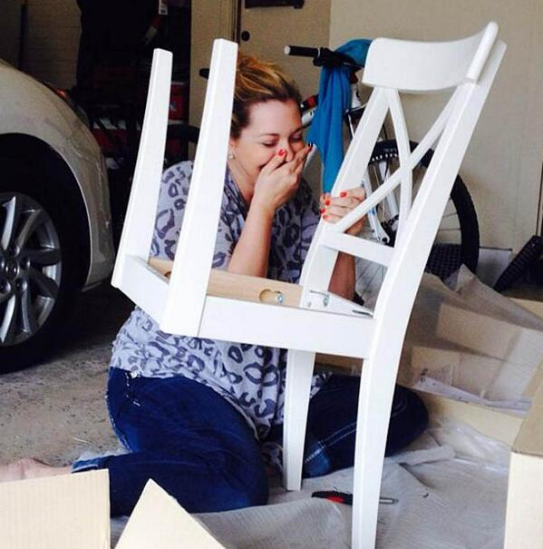 Ikea fail attempts to assemble flat pack furniture result for Someone to assemble ikea furniture