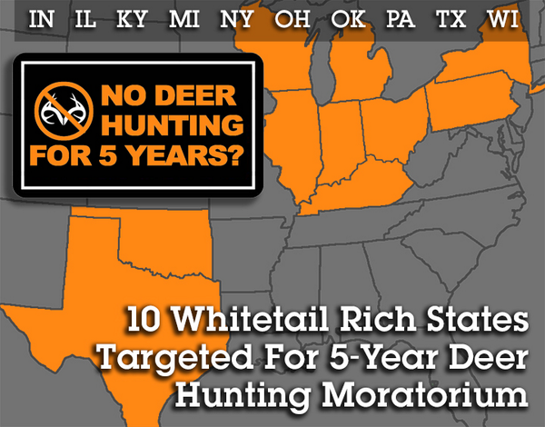 "No Deer Hunting For 5 Years? Officials are calling it a ""Hunting Resource Replenishment Plan"". http://t.co/Xot881HG1A http://t.co/bZIW3pcEaG"