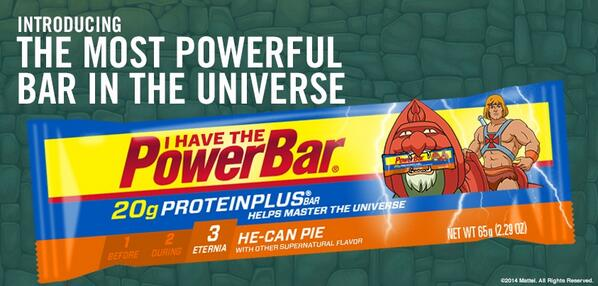Teamed up w/ He-Man to create our mightiest flavor yet - it's time to master the universe. RT if you want to try it! http://t.co/Ye5dyuNuJ3