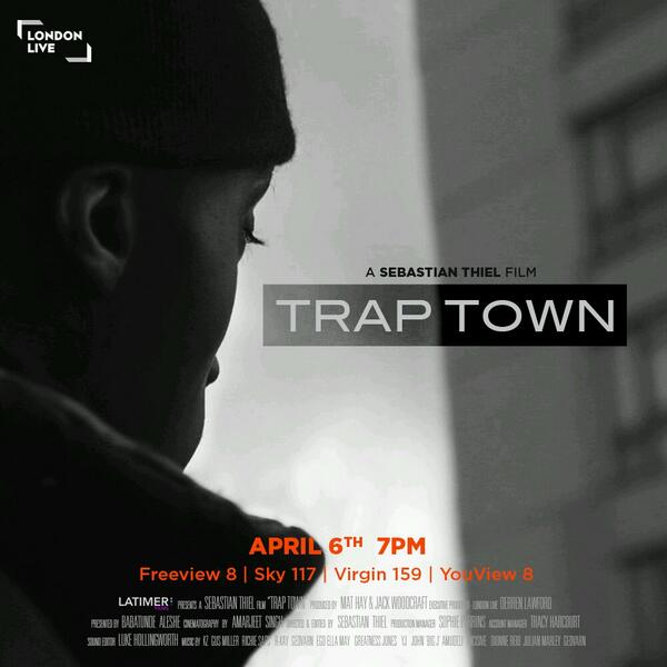 My TV documentary is out April 6th on @LondonLive s/o @Latimergroup ;) http://t.co/REnAV4qIbq