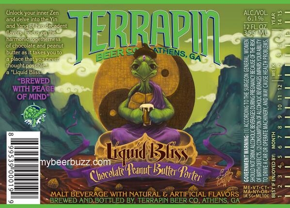 Not an April Fool's joke... MT @mybeerbuzz: Terrapin–Liquid Bliss Chocolate Peanut Butter Porter   http://t.co/lEwF1BI5wM
