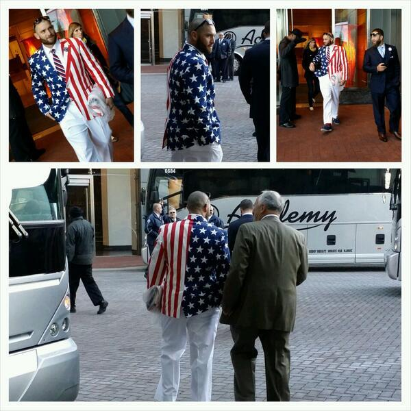 Red Sox Patriotic Blazers: Fashion Fun or White House Faux Pas? -> http://t.co/MVZSo9V5Cn http://t.co/Pe55oraBgN