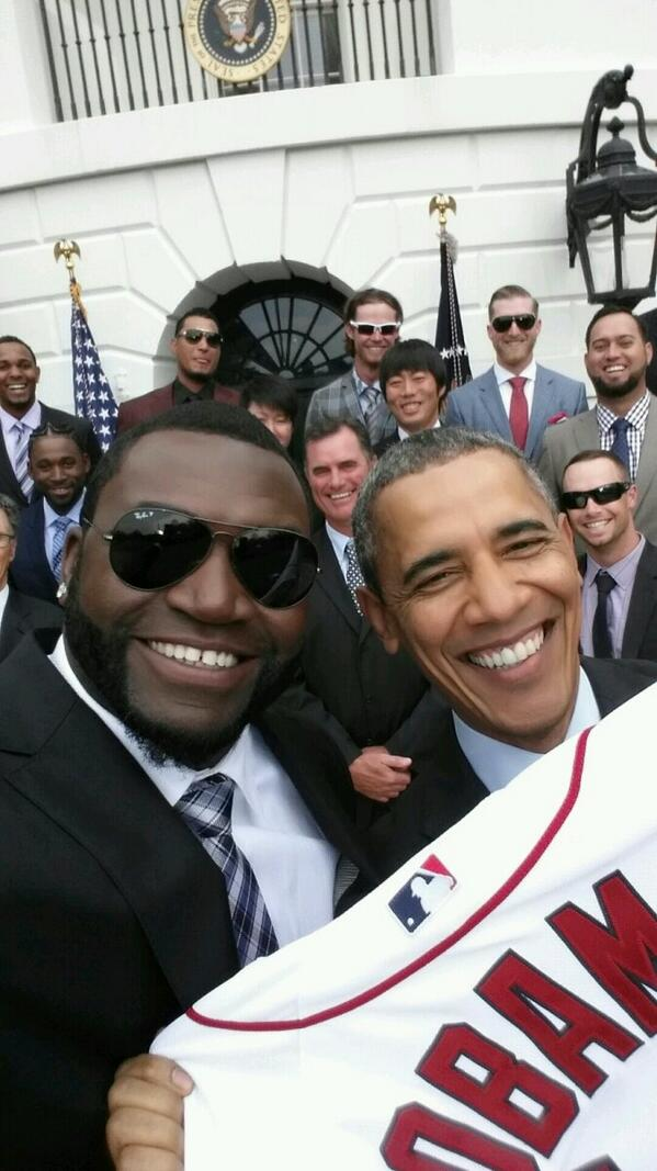 What an honor! Thanks for the #selfie, @BarackObama http://t.co/y5Ww74sEID