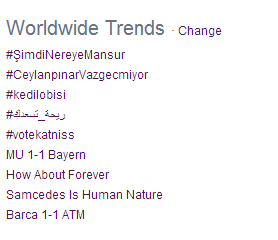 Samcedes is Human Nature is TTWW http://t.co/p1eu9MbETf
