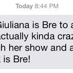 Twinsies! RT @_bremarie_: This may be the greatest compliment I've ever received! Love you, @GiulianaRancic! http://t.co/05pRJemB5r