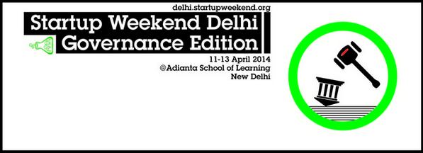 It's election season and Startup Weekend #Governance is here. Register now http://t.co/CohyLGZ7tn #SWdel #Delhi http://t.co/fIxeYGB1Em