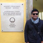 At Mozart House turned Museum in Salzburg (Austria).