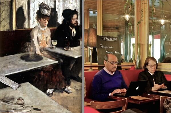 Paris 1873 by Degas, Paris 2012 by me http://t.co/pXICra9fG4