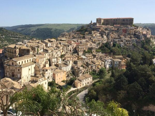 From our Destination Editor in Sicily @go_AnnaT Walking down the 250-step staircase into Ragusa Ibla old town. #lp http://t.co/jV1t7AUFv6