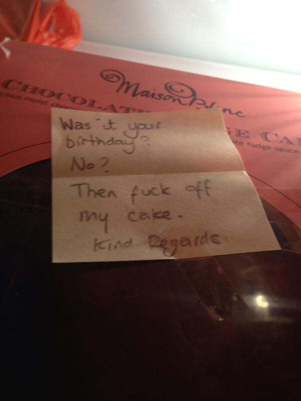 Best use of kind regards ever... #BBCfridge http://t.co/Png71AT19h