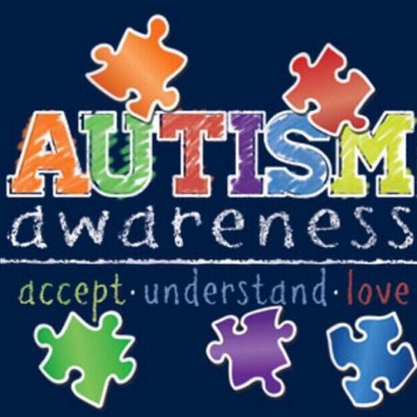 Today is World Autism Awareness Day! Share this photo and show your support ❤️ http://t.co/12tRuNJJVf