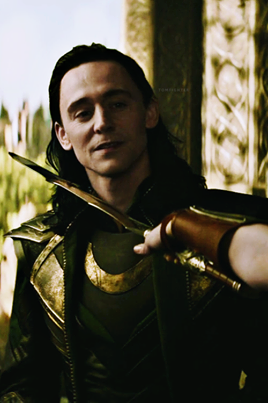 #VoteLoki because of his adorably cute face with a blade to his neck http://t.co/CQPynsHjME
