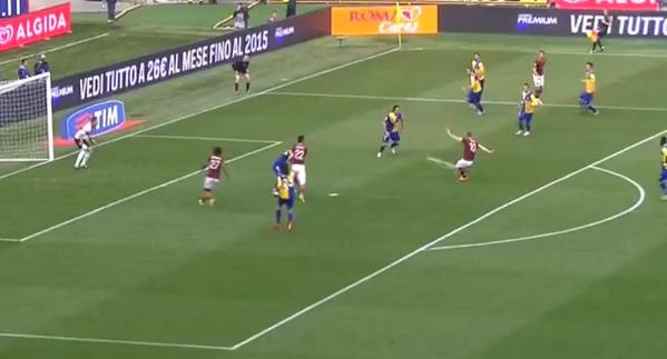 BkOxM5iCAAEnXY9 Romas 37 year old legend Francesco Totti scored a top corner screamer v Parma [Video]