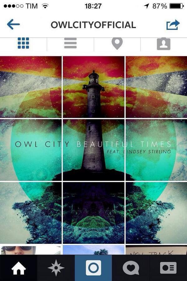 A capa do próximo single foi oficialmente divulgada pelo Adam em seu instagram (owlcityofficial). http://t.co/jJkjXhSXsB