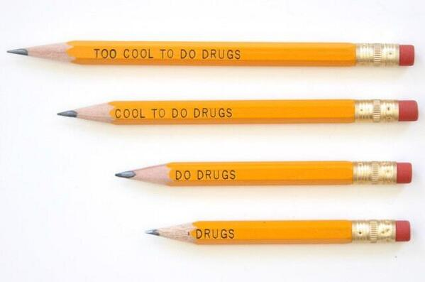 These pencils were withdrawn from US schools after a 10 year old pointed out a problem… http://t.co/3zh89N9xZ7