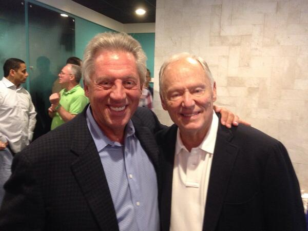 With Pastor Tommy Barnett today. He has been a friend & mentor of mine for 40 years! http://t.co/V5rNsAXDK2