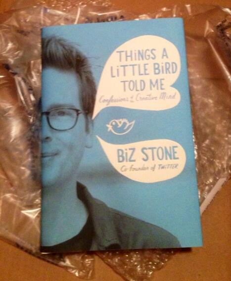 Very excited to read what came in the mail today! Congratulations @biz ! We're so excited & so proud of you. http://t.co/y30OWt7E5h