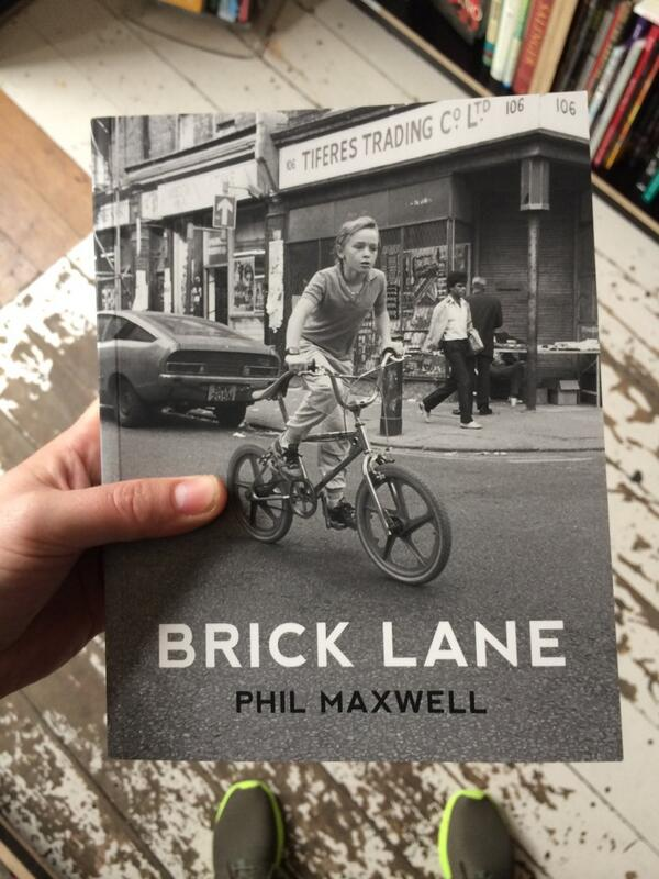 New photo book on Brick Lane. Bargain price as well at £10. Get them while they're fresh etc. @thegentleauthor http://t.co/ArnRLx0H7p