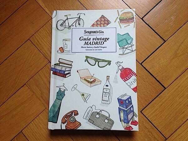 Hoy sale mi librito: Guía Vintage de Madrid, una idea de Seagram´s. También es de @mariosgonzalez y @litteisdrawing http://t.co/EnCI63YHTB
