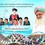 Sant Asaram Bapu Jis Gurukul Building a strong Nation by #RevivingIndianEducation https://t.co/XfwXWxQTTu