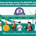 Bapujis Gurukul r capable of providing the nation great countrymen to make it reach top.#RevivingIndianEducation https://t.co/ENonlmrtxK