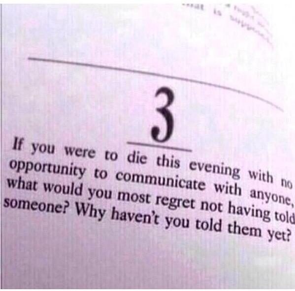 Just think about it.
