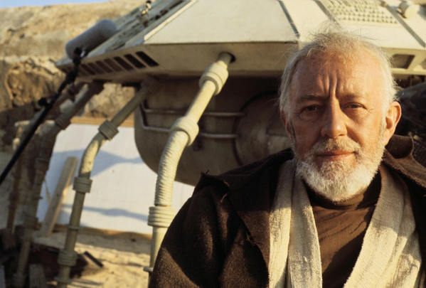 Sir Alec Guinness was born 100 years ago yesterday. http://t.co/eMoHJonsxg