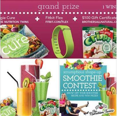 #win these #prizes! #share your #healthy #smoothie #recipe with @NutritionTwins and @BAN_News http://t.co/4AmI07pMmC  http://t.co/bUbsJ3k7ZK