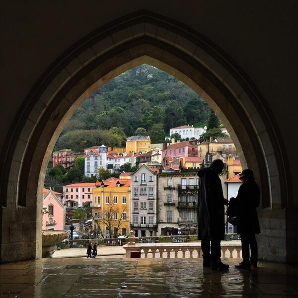 Not so vintage (2013) but still a beauty! RT @andandrsn: Sintra, Portugal http://t.co/rydR97F448 #lp #travel #tbt