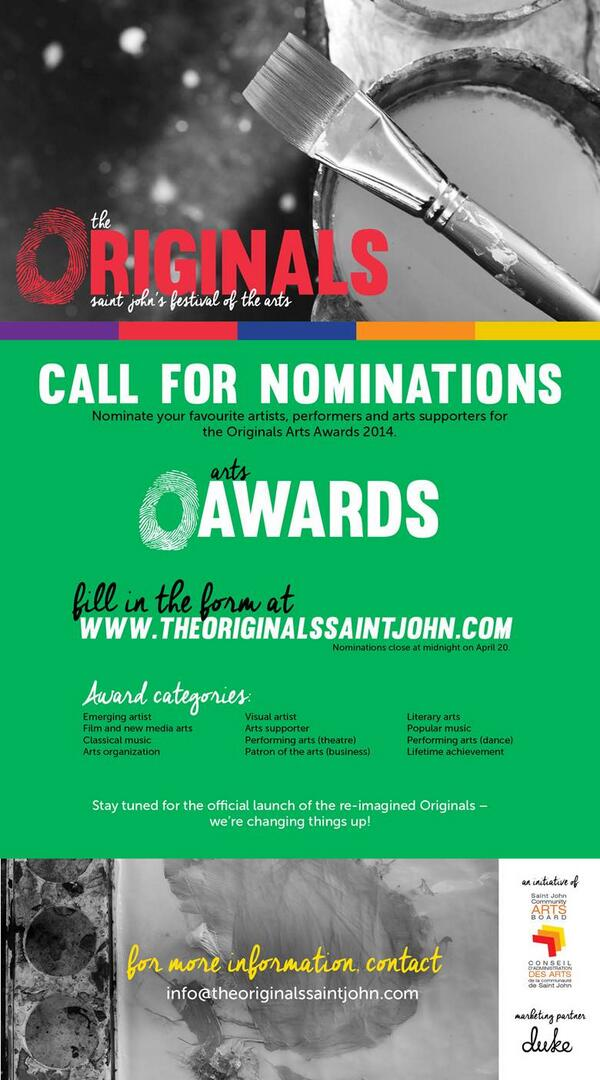 Take 3 minutes from your day to nominate someone for  @theoriginals_SJ!  http://t.co/LiSucWk2rK http://t.co/WNnTKedqfv