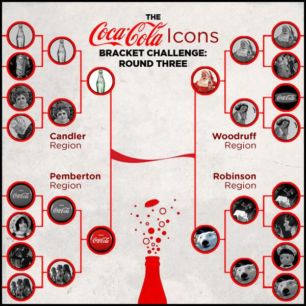 We're in the semi-finals of the Coke Icons Bracket. Vote today!  http://t.co/guTPWuT4aq http://t.co/DrW1JW3SPs