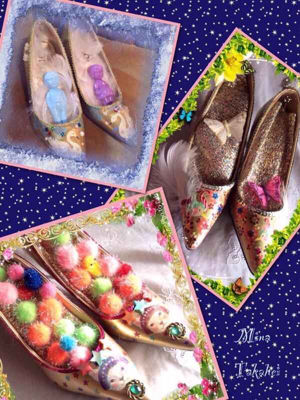 靴展に出品します☆ ギャラリーモンピカ4月10日〜 http://t.co/xAsyhBh2GE