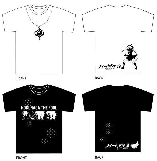 雑貨ベルハウスBOTです!ノブナガ・ザ・フールのTシャツ2種が好評発売中。シンプルな白と黒のデザインがカッコイイ!!【詳