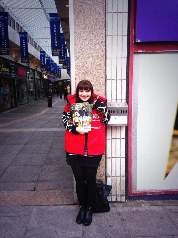 Katie Elin-Salt (@KatieElinSalt): Sold them all! Bridgend you ROCK