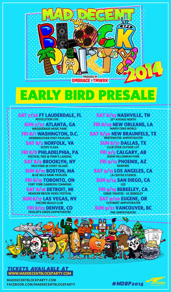 DATES & LOCATIONS! Go to http://t.co/6QfnpU4pkV right now to get $25 early bird tickets. Tix r mad limited! #MDBP2014 http://t.co/nRrKaIVBuo