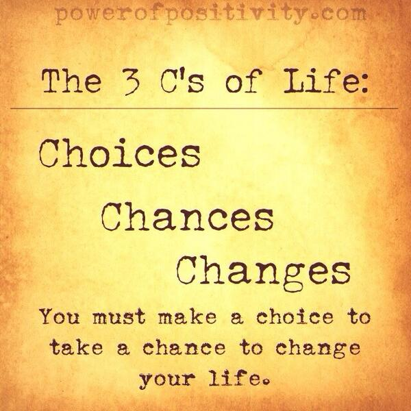 The 3 C's of Life: http://t.co/DuY3kLx108