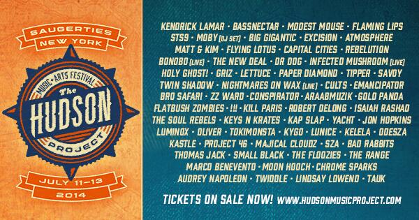 Win a 3-day pass to the @hudson_project festival by retweeting this and entering here: http://t.co/69kMvPEIks http://t.co/Tz7hKfVKnv