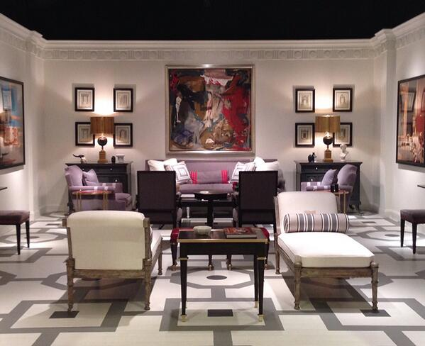 #SneakPeek of one of the rooms for my @ChaddockFurn #HPMKT launch tomorrow. #52WeeksOfMary #ChaddockFurnitureLaunch http://t.co/Fct5GkVWEt