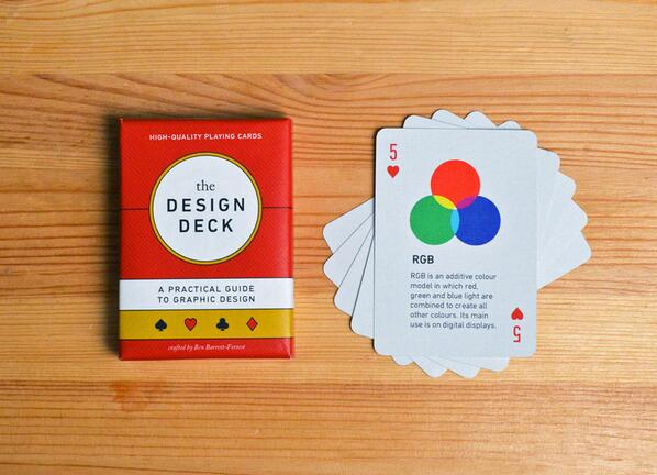 Learn graphic design while playing poker with this beautiful deck of cards! http://t.co/Zla53TmBuy http://t.co/1qJf4Z5DCZ