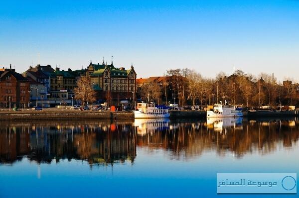 تعتبر أوميا - السويد - العاصمة الأوربية الثانية للثقافة لعام 2014  #معلومات_سياحية http://t.co/JDZmjcdLPZ