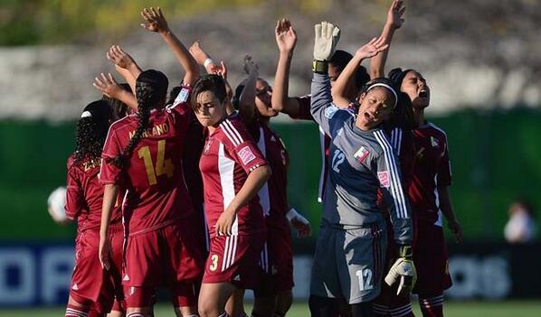 Toda Venezuela está orgullosa de estas chicas que dejaron el nombre del país en alto. Felicidades chicas http://t.co/jWaT4omMIF